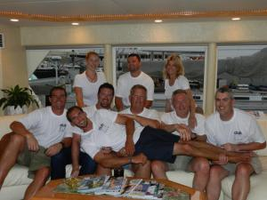 Team Boston at Heineken Regatta